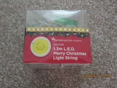 AU10.57 • Buy Merry Christmas Light String New/boxed Unwanted Gift