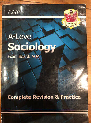 £3.99 • Buy A Level AQA Sociology Complete Revision And Practice Book