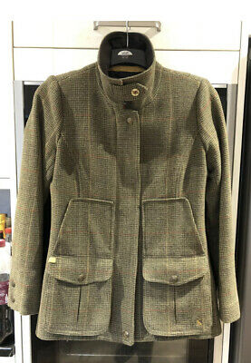 £37 • Buy Joules Field Coat Jacket Tweed Size 10 Country Casual Outdoor