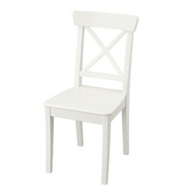 AU80 • Buy NEW/ UNOPENED IKEA INGOLF Chair - White SET OF TWO