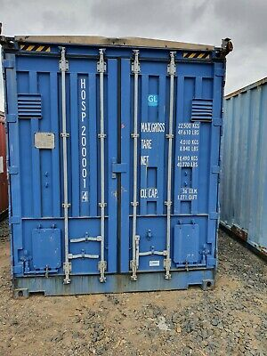 AU2500 • Buy 20ft Shipping Containers - GP - Open Toppers - Side Open - Various - Price Ea
