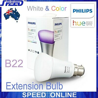 AU89.50 • Buy Philips Hue - White And Color Ambiance - Extension Bulb - Single - (B22)