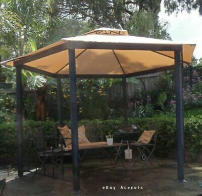 AU110 • Buy Authentic Mimosa Hexagonal Gazebo Replacement CANOPY ONLY