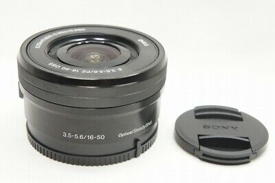 AU143.12 • Buy  MINT  SONY And PZ 16-50mm F3.5-5.6 OSS SELP1650 Lens Black For Mount #211016g