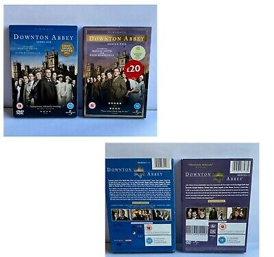 £5.79 • Buy Downtown Abbey TV Series 1 And 2 DVD UK