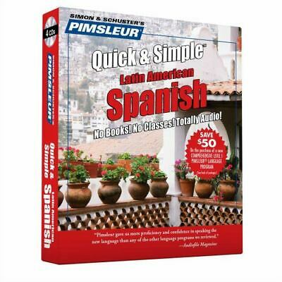 £5.62 • Buy Quick And Simple Ser.: Pimsleur Spanish Quick And Simple Course - Level 1...