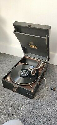 £99 • Buy His Masters Voice Gramophone Record Player 78 Rpm