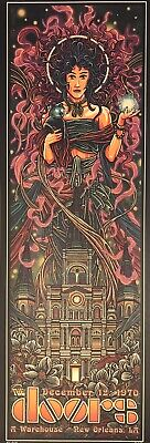 $399.99 • Buy The Doors Very Rare Ap Autographed Last Concert Poster New Orleans #5/20