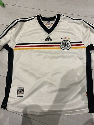£15 • Buy Germany 1998/00 Home Shirt Large