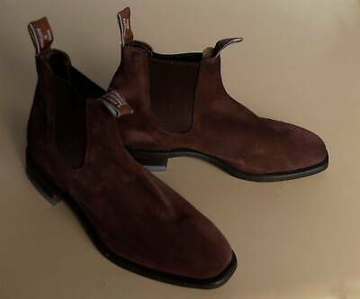 AU395 • Buy RM Williams COMFORT CRAFTSMAN BOOT Suede Leather 9G - RRP $595 - SAVE $200