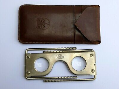 £46.22 • Buy Antique Carl Zeiss Pocket Aerotopo Stereoscope In Case Viewer 3D
