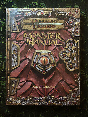 AU25 • Buy Dungeons And Dragons Monster Manual Core Rulebook III