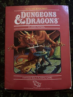 AU60 • Buy Dungeons And Dragons: Players Manual 1983 1st Edition