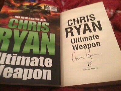 £6 • Buy Ultimate Weapon By Chris Ryan (Hardcover, 2006) Signed