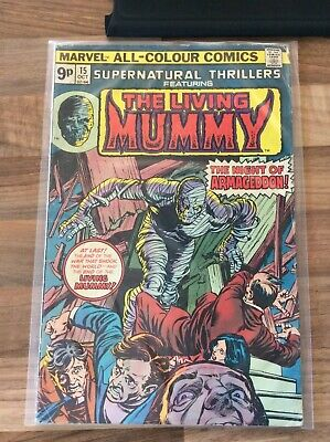 £8 • Buy The Living Mummy Oct 15  Marvel Comic In Sleeve