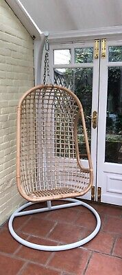 £45 • Buy Hanging Rattan Chair With Stand