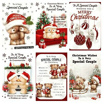 £1.65 • Buy Special Couple Christmas Card ~ To A Special Couple  ~ Various Designs