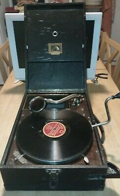 £33.01 • Buy Vintage His Masters Voice Gramophone Record Player
