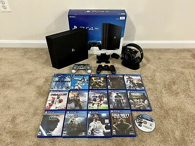 AU373.88 • Buy Sony PlayStation PS4 Pro 1TB Console - 15 Games + TB Headset + Controller + Dock