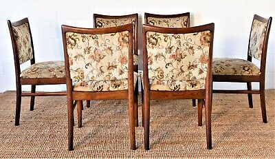 AU550 • Buy 6 X 1970's CHISWELL Dining Chairs Mid Century Modern, Retro Tessa Parker Era