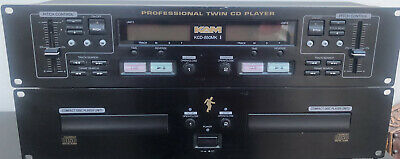 £19.99 • Buy KAM KCD850  Professional Twin CD Player Controller & Dual CD-Player Unit