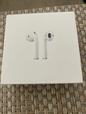 AU82.31 • Buy Apple AirPods 2nd Generation With Charging Case - White