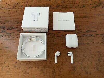 AU102.50 • Buy Apple AirPods (2nd Generation) With Wireless Charging Case