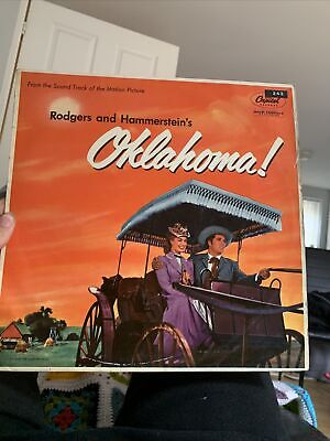 £1 • Buy Rodgers And Hammerstein Is Oklahoma Soundtrack Capitol Records