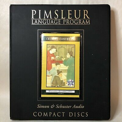 £50.75 • Buy Simon & Schuster's Pimsleur Chinese Cantonese 30 Lessons 16 CDs