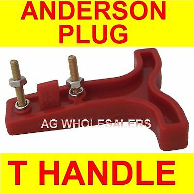 AU1.99 • Buy T HANDLE - ANDERSON PLUG CONNECTOR 50 AMP DUAL BATTERY 50a