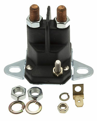 £16.99 • Buy 12 Volt 3 Pole Starter Solenoid Fits Ride On Lawn Mowers & Tractors T12/1