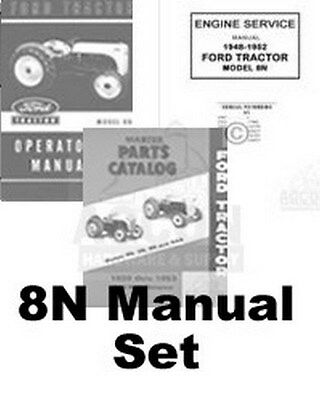 $ CDN76.13 • Buy Ford 8N Tractor Engine Service Operators Parts Manual