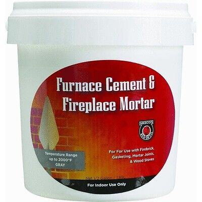 1/2 Gallon Furnace Cement For Fireplaces  • 25.97£