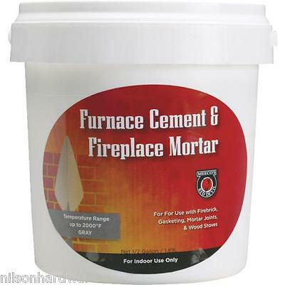 1/2 Gallon Furnace Cement For Fireplaces 4Pk • 51.95£