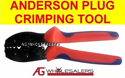 AU17.50 • Buy Anderson Plug & Non Insulated Lug Crimping Tool Terminal Cable Crimp Wire