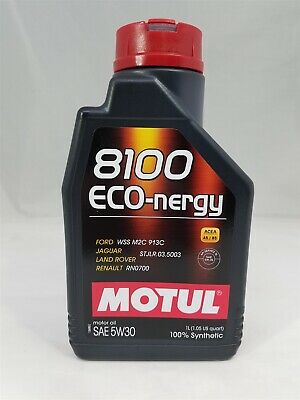 $ CDN19.45 • Buy 102782 Motul 8100 ECO-NERGY 5W30 100% Synthetic Performance Engine Oil (1 Liter)