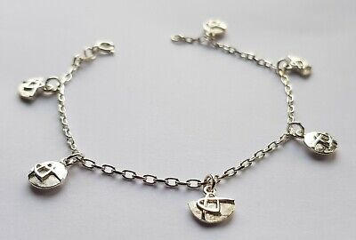 Scottish Ola Gorie Silver Faray Bracelet Celtic Boxed • 55£
