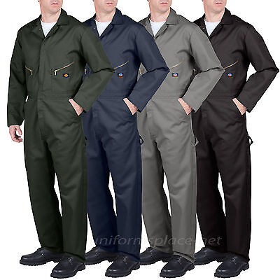 $54.99 • Buy Dickies Long Sleeve COVERALLS Men Mechanic Cotton Blend Coverall