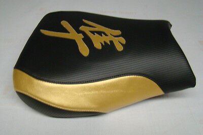 $62 • Buy Hayabusa 1999/00/01/02/03/04/05/06/2007 Gsxr1300 Front Seat Cover  Black/gold