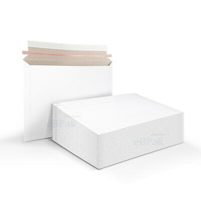 AU132 • Buy 500x Card Mailer #B4 255x355mm White 300gsm Envelope - Tough Bag Replacement
