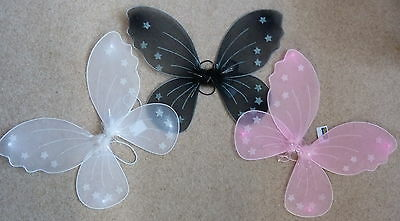 £3.25 • Buy Large Fairy / Butterfly Wings - Choice Of 3 Colours - Child's Dressing Up Item