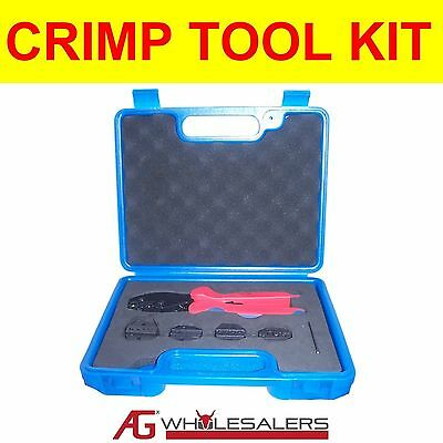 AU39 • Buy Crimp Tool Set Kit For Terminals, Boot Lace, Wire End Ferrule, Anderson Plug 50a