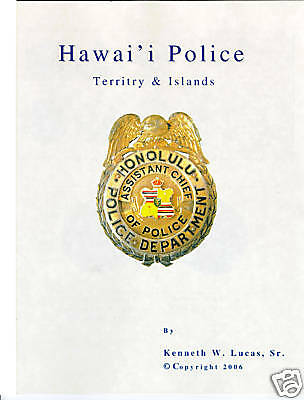 £14.49 • Buy HAWAII POLICE Chronology Of Badges By Lucas