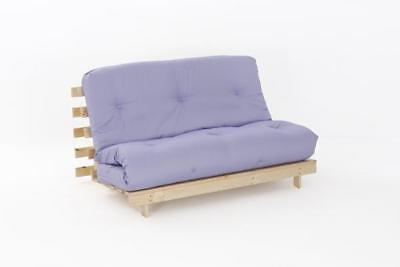 £149.99 • Buy DOUBLE 4FT6 FUTON WOOD FRAME + PREMIUM LUXURY MATTRESS In A Choice Of 5 COLOURS