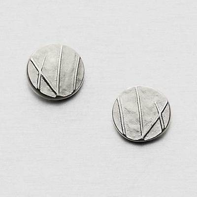 Ola Gorie Silver Stud Earrings Mistral Round Boxed Scottish • 35£