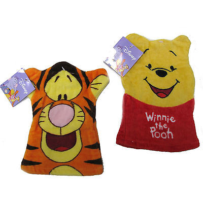 £1.99 • Buy Disneys Winnie The Pooh & Tigger 2 Pack Wash Mittens,Childs Baby Flannels Cotton