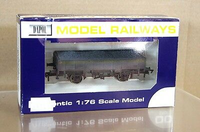 DAPOL B756A ENGINEERS GRAMPUS COAL WAGON No D8988458 NEW BOXED WEATHERED Ms • 22.50£