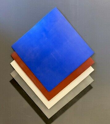 Silicone Rubber Sheet 200mmsq, 1,1.5,2,3,4,5,6,8,and 10mmthk • 3.55£
