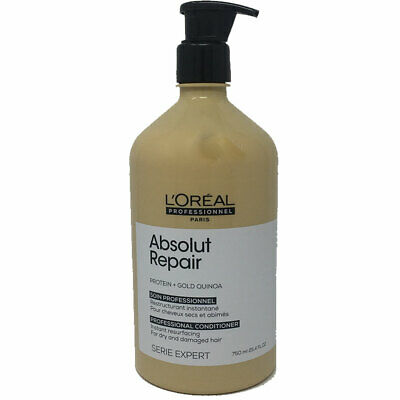 L'OREAL Professionnel Absolut Repair Gold Quinoa + Protein Conditioner 1000ml • 24.95£