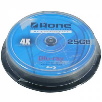 £27.99 • Buy 50 X Aone Blu Ray Blank Discs Full Face White Printable 25GB BD-R *48hr Courier*
